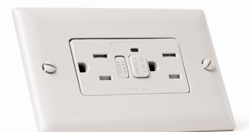 GFCI Electrical Outlet