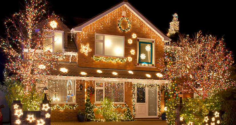 Outdoor Christmas Light Safety - Outdoor Christmas Light Safety - Graf Electric